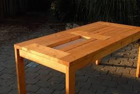 diy outdoor table with cooler. DIY Patio Table With Built-in Beer/Wine Coolers Diy Outdoor Cooler