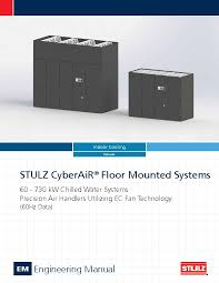 cyberair crac crah data center cooling stulz usa stulz cyberair cw engineering manual qecs009d