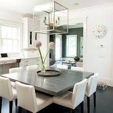 grey dining room chairs. gray square dining table with white chairs | for the home pinterest chairs, tables and grey room e