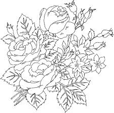 luxury rose coloring books more image ideas
