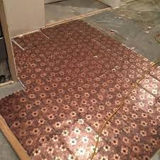 copper penny tile best pennies floor ideas on penny flooring tile copper penny tile bathroom copper copper penny tile