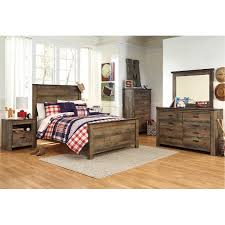 full bedroom sets. Exellent Full Rustic Casual Contemporary 4 Piece Full Bedroom Set  Trinell To Sets E