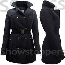 Size 8 10 12 14 16 Women MILITARY Ladies Quilted JACKET COAT ... & Image is loading Size-8-10-12-14-16-Women-MILITARY- Adamdwight.com