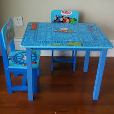 details of kids study table and chair thomas