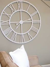large white clock there is large wall clock for beautiful interior white large big white clocks