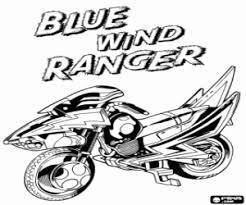 Kleurplaten Power Rangers Kleurplaat