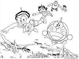 Shizuka viene rapita e una tempesta impedisce di proseguire il viaggio. Doraemon With Dinosaurs 61a2 Coloring Pages Printable