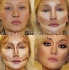 Contour Lines Makeup Round Face Makeupview Co