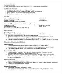 Internship Resume Template Microsoft Word Unique Resume Template Outlook Internship Resume Template Microsoft Word