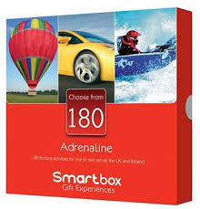 smartbox adrenaline 40th birthday gift ideas for men
