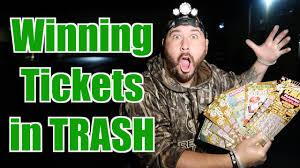 Diving Omargoshtv - Finding Scratch Dumpster Tickets Winning Off Youtube