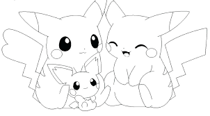 Pikachu Coloring Pages Printable Coloring Page Free Printable