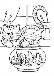 Kids N Fun 68 Kleurplaten Van Poezen En Katten