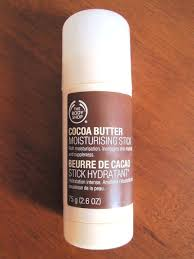 the body cocoa er moisturising stick