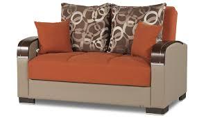 Orange Living Room Set Mobimax Living Room Set Orange By Casamode Sohomodcom