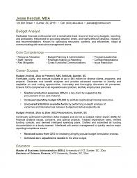Financial Planning And Analysis Resume Examples Budget Analyst Resume 13
