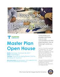 Open House Flyer - October 23, 2017 | City of Taunton MA