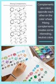 Color Mixing Chart- Six Printable Pages for Learning About Colors ...