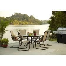 garden treasures set of 6 hayden island steel patio