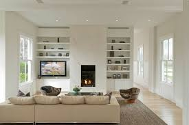 Limestone Fireplace With Tall Over Mantle  Mediterranean  Family Tall Fireplace