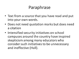 paraphrasing sources com powerpoint presentations services