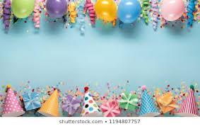 Happy Birthday Streamers Images Stock Photos Vectors
