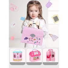 Ngôi nhà búp bê Barbie 2 tầng cho bé Mô hình búp bê đồ chơi Quà tặng sinh  nhật cho bé gái chính hãng 600,000đ
