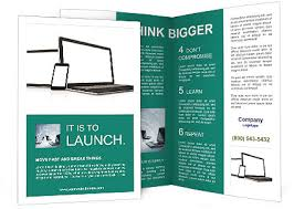 Electronic Brochure Template Electronic Brochure Template Smiletemplates Com