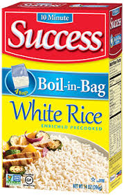 bag of white rice. Interesting Bag Success Rice The ORIGINAL BoilinBag Rice Is A Product Of Riviana Foods  Inc Located In Houston TX Success Rice Currently Market Leader  To Bag Of White H