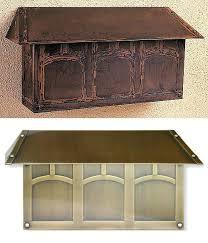 craftsman style mailbox. Brilliant Craftsman Craftsman Mailbox Style Numbers  Throughout Craftsman Style Mailbox R