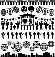 盆踊り イラスト素材 Istock