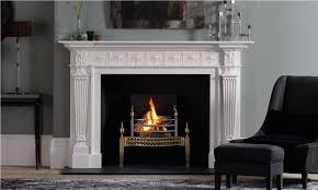 chesney s roxbrughe fireplace in statuary marble with osterley brass fire basket