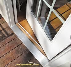 How To Install A Door Threshold On Exterior Door Excellent Home ...