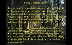 nathaniel hawthorne young goodman brown