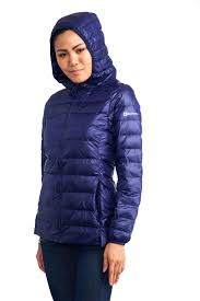 alpine swiss womens hooded down jacket puffer bubble coat packable light parka 3