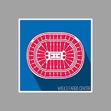 Amazon Com Artsycanvas Philadelphia Wells Fargo Center