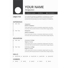 Resume Samples Doc Download Resume Template Doc Download Download 12 Free Microsoft Office Docx