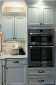 kitchen cabinet wall oven and microwave designs