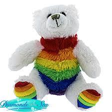Plush Rainbow Bear Plushland