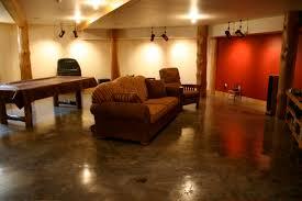 concrete basement floor ideas. Brilliant Concrete Basement Flooring Ideas Concrete On Floor N