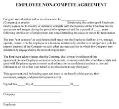 Noncompete Clause Non Compete Agreement Massachusetts Template Lofts At Cherokee Studios