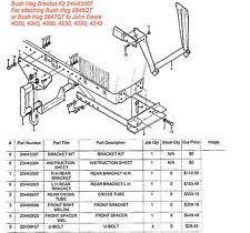 similiar bush hog quick attach diagram keywords bush hog 2846qt 2847qt front end loader bracket kit for john deere