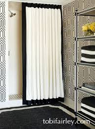 cream and black shower curtain. here are some beautiful black and white products currently on the market! these madeline weinrib rugs pillows of my favorite cream shower curtain k