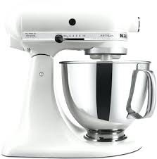 kitchenaid stand mixer stand mixer tilt 5 quart artisan matte pearl white meringue used kitchenaid kitchenaid stand mixer