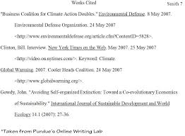 work cited essay example page regarding examples   mla style work cited essay example 11