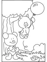 Mega Veel Kleurplaten 6 Luchtballon Kleurplaten