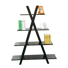 image ladder bookshelf design simple furniture. furniture black stained ideas free standing simple design where to put the and attractive book image ladder bookshelf e