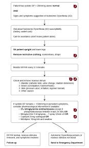 Autonomic Dysreflexia Management And Recommendations