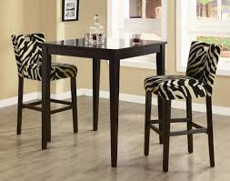 tall dining table set unique homelegance junipero 5 piece counter ening image of small dining room decoration using black white