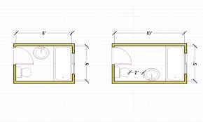 5 X 11 Bathroom Layout Terrific Plans Free Fireplace At 5 X 11 ...